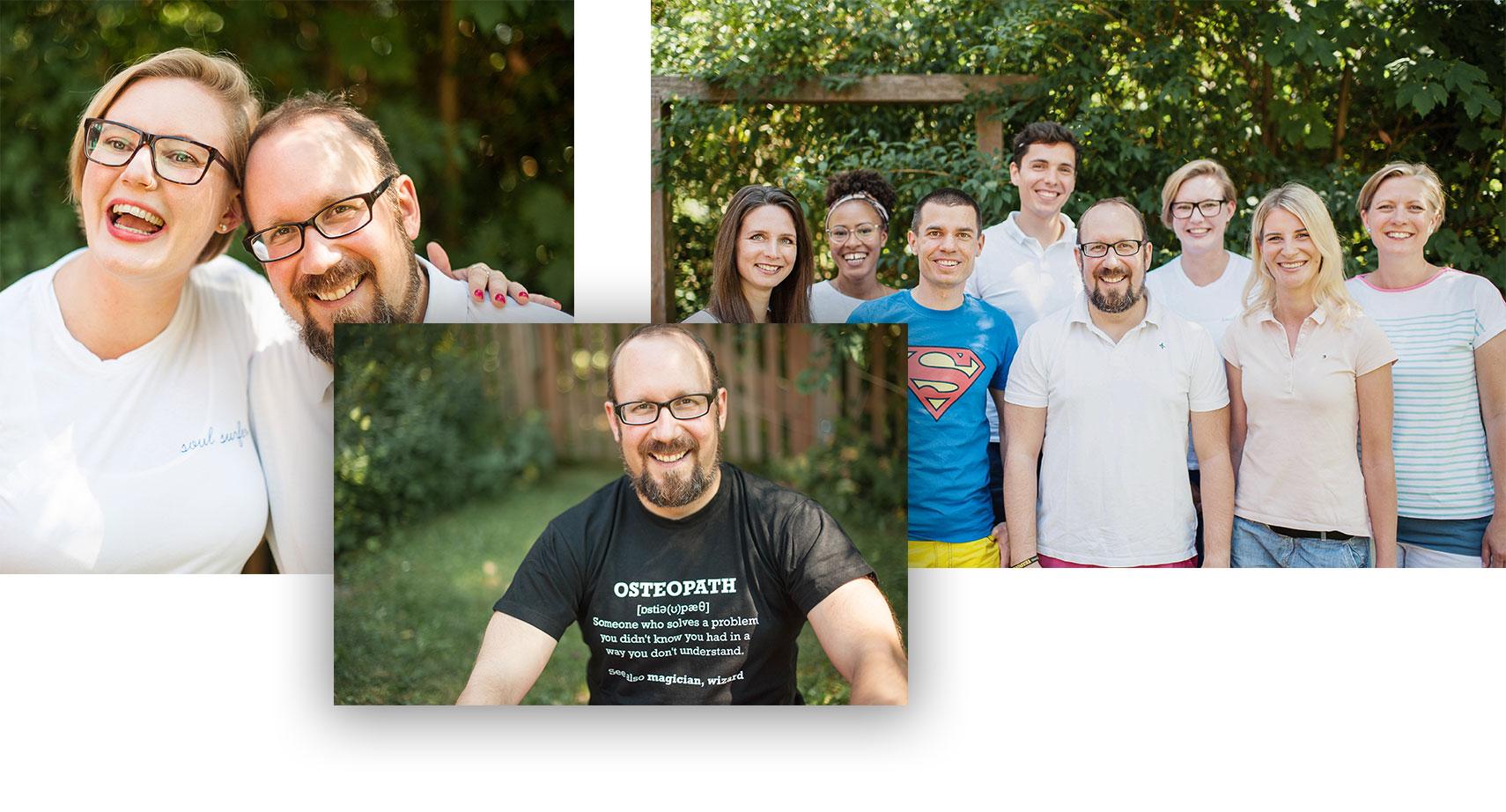 Unsere Experten in der hamburger Heil- & Chiropraxis Alexander Mallok